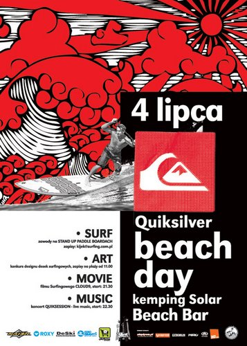 quicksilver beach day