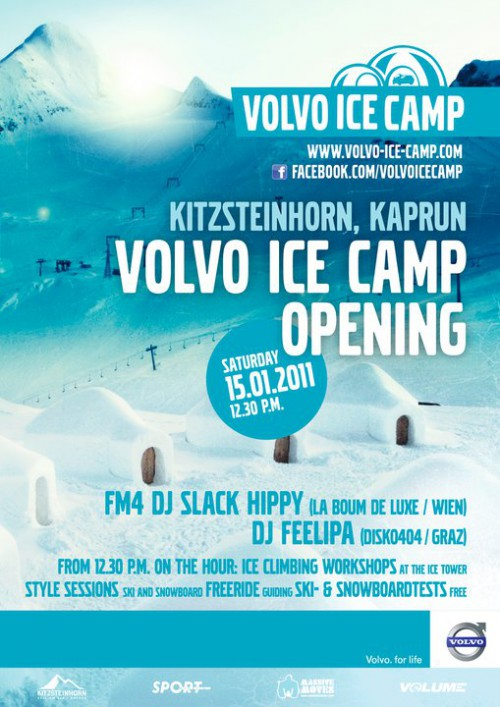volvo ice camp