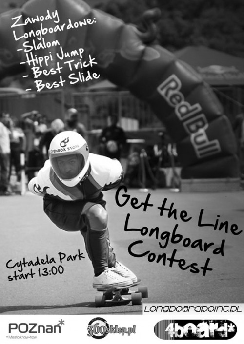 get the line longboard contest