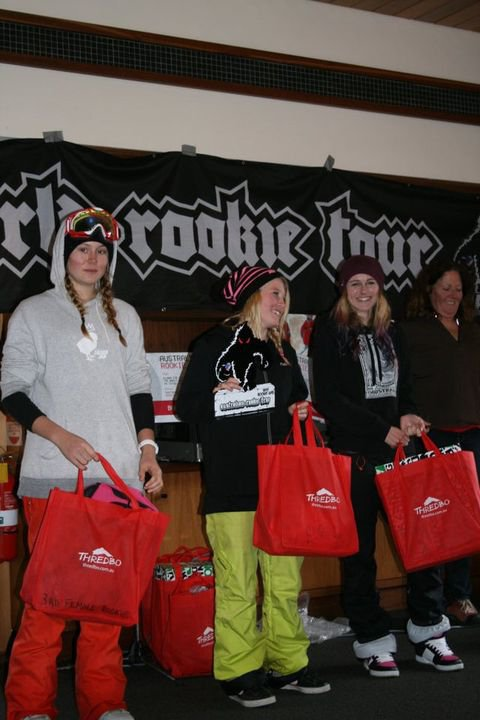 female rookie winners