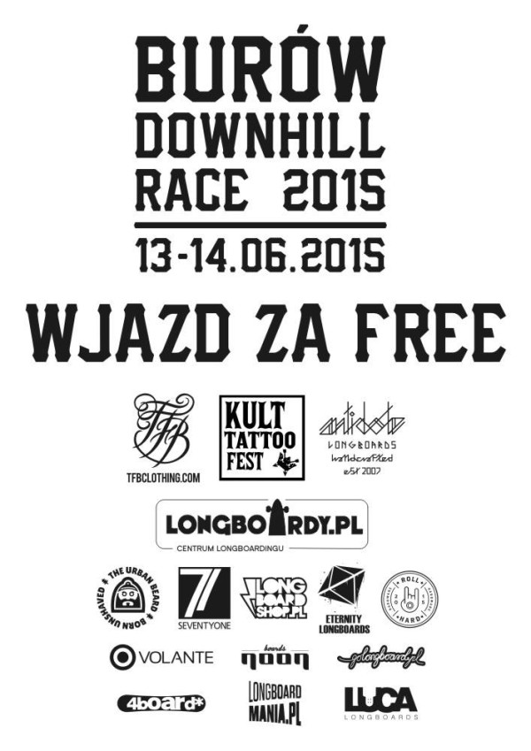 Burów Downhill Skateboarding Race