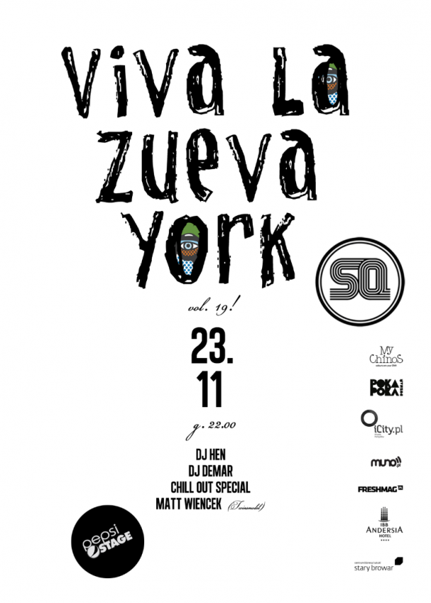 Viva La Zueva York vol. 19!
