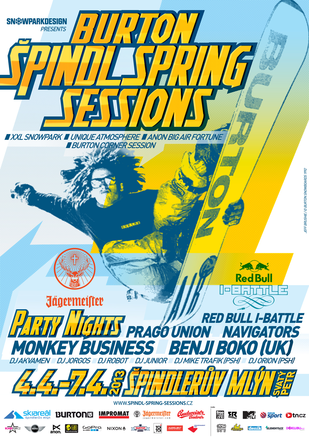 Burton Spindl Spring Sessions 2013